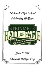 Steinmetz Hall of Fame Program - 2014