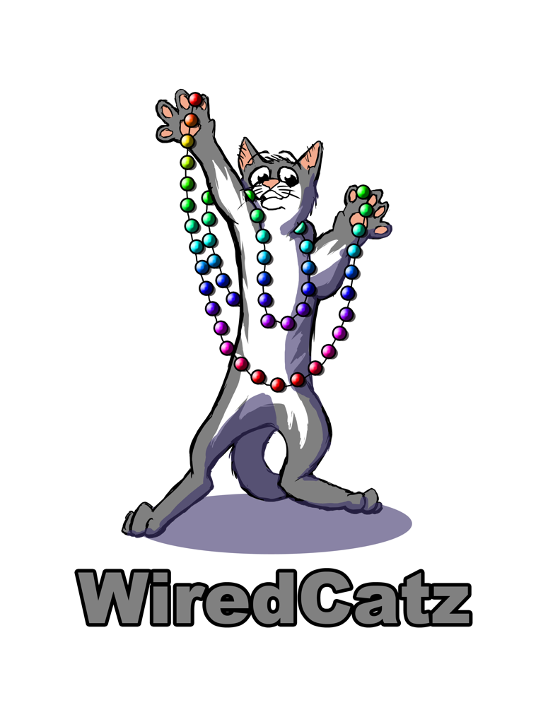 WiredCatz Logo Gray
